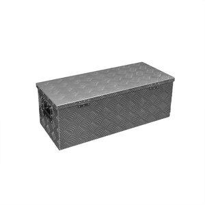 Gereedschapskist aluminium voor aanhangwagen 760 x 320 x H270mm