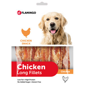 Chicken Long Fillets Hondensnack