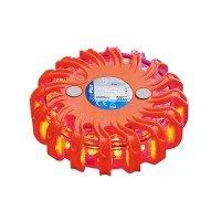 ALARM-disk 16LED oranje