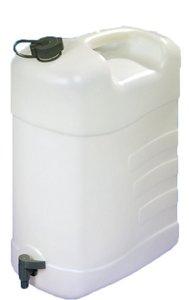 Jerrycan met kraan 35 ltr. (excl. Schenktuit)
