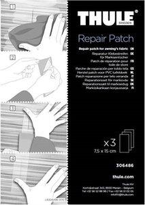 Thule PVC luifel Repair patch 306486 (3st 7,5x15cm)