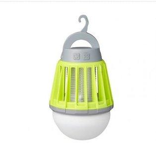Camping- & Insectenlamp 2 in 1 oplaadbaar
