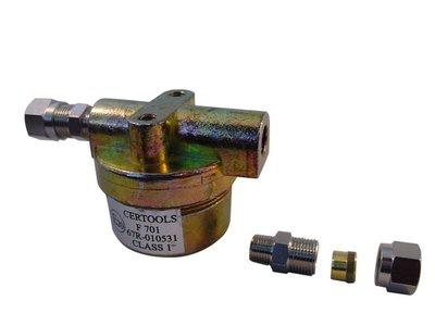 Gasfilter LPG 8mm knel x 8mm knel